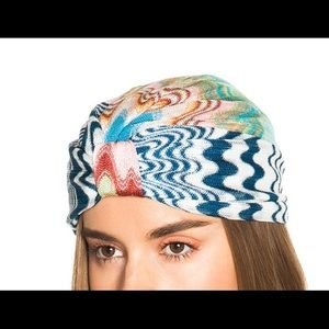Missoni Mare Turban Blue Multi
